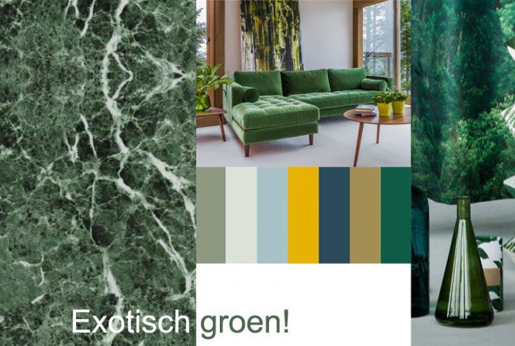 exotisch groen