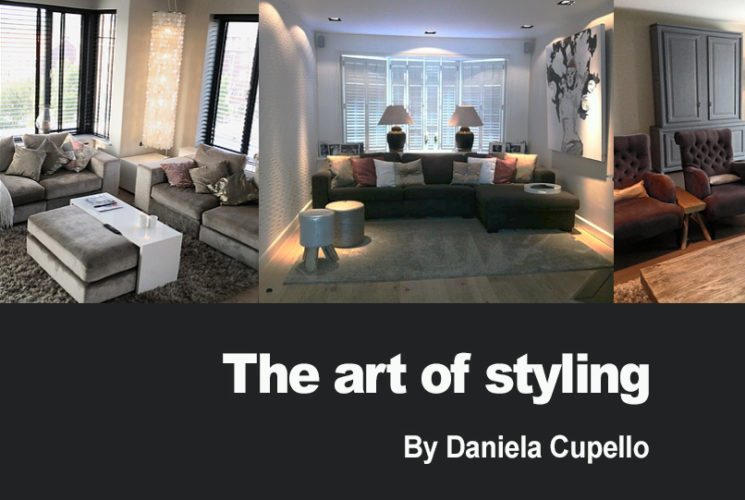 Blog The art of styling by Daniela Cupello