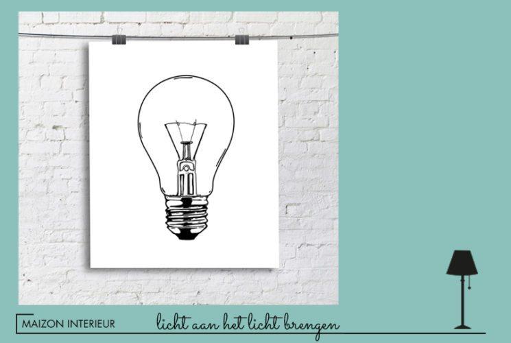 blog licht aan het licht brengen