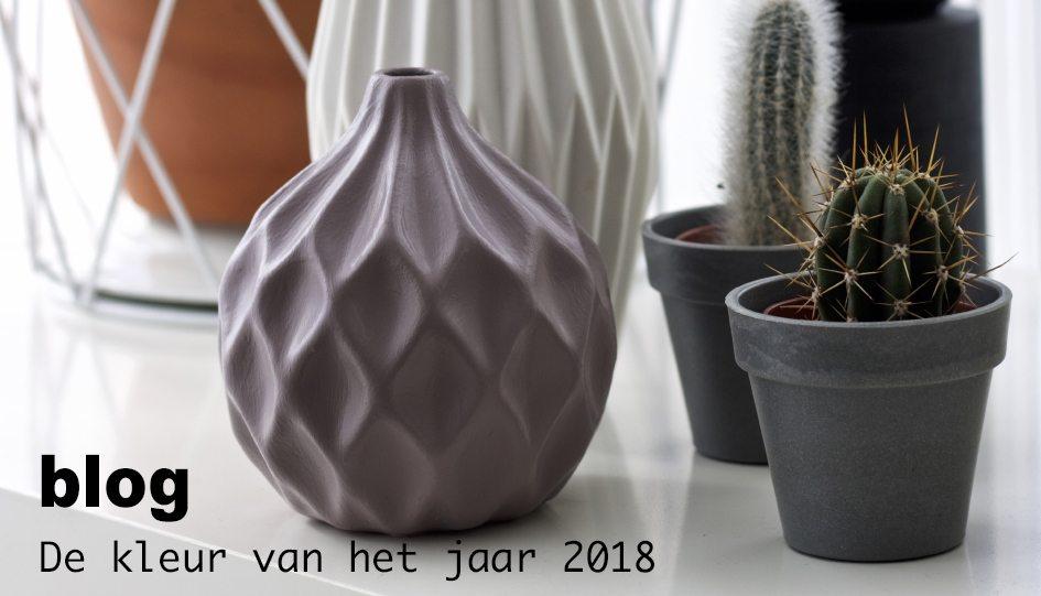 blog kleur van het jaar 2018